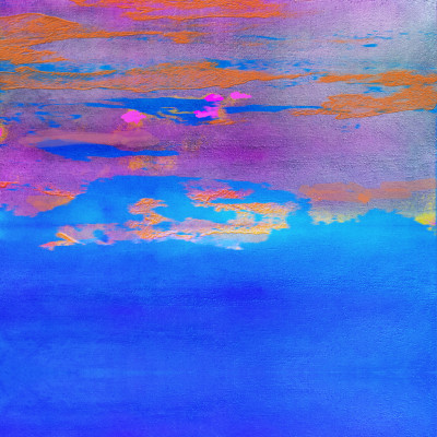 peinture abstraite transparence