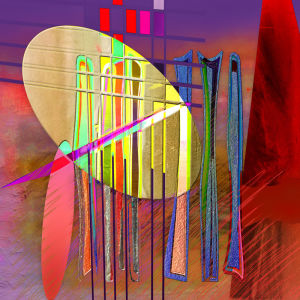 Abstract Line Musique Matinale